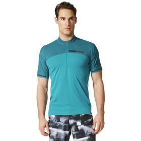 adidas TERREX Climachill Agravic - T-shirt manches courtes Homme - Bleu pétrole